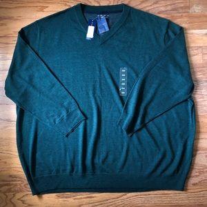 Club Room Mens Merino Wool Blend Sweater 4XB NWT